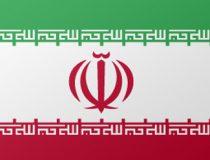 Iran national flag.