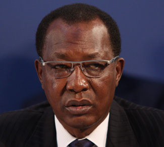 resident Idriss Deby of Chad at the London Conference on The Illegal Wildlife Trade, 13 February 2014.