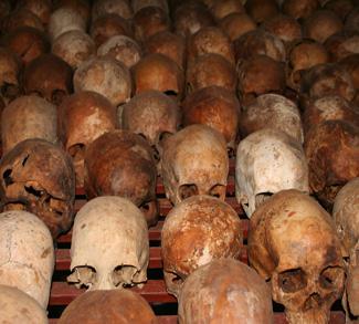 Rwanda Genocide memorial.