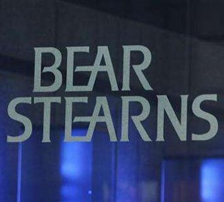 Bear Stearns sign