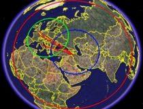 Political map of eastern hemisphere