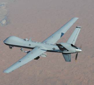 MQ-9_Reaper_UAV, public domain, U.S. Air Force Photo / Lt. Col. Leslie Pratt