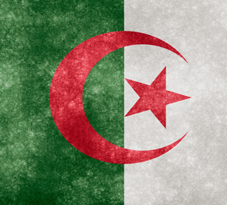 AlgeriaFlag, cc Flickr Nicolas Raymond, modified, https://creativecommons.org/licenses/by/2.0/