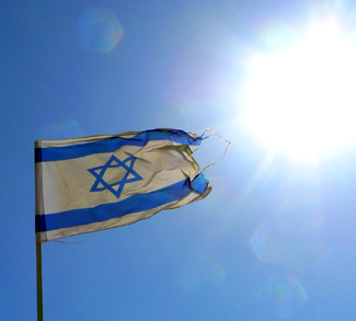 israelflag, cc Flickr,, Justin Laberge, modified, https://creativecommons.org/licenses/by/2.0/