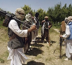 Taliban fighters are seen in an undisclosed location in Afghanistan
