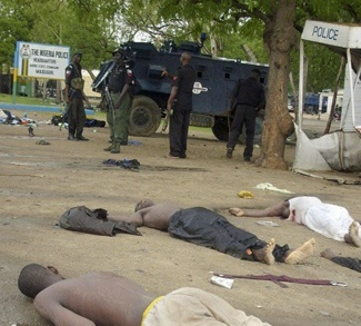 dead bodies in Nigeria