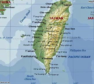 Island of Taiwan