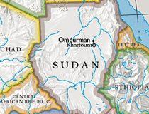 Sudan and surrounding area