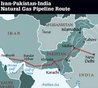Political Map of IPI Pipeline