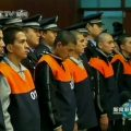 A frame grab taken from footage shot on October 14, 2009, shows defendants, involved in ethnic riots in far western Xinjiang region in July, during their trial in Urumqi, Xinjiang Autonomous Region