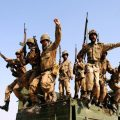 Pakistani soldiers take part in a military exercise in Multan