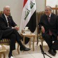 U.S. Vice President Biden meets with Iraq's President Talabani in Baghdad