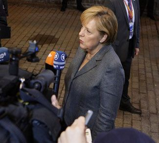 Interview with Angela Merkel