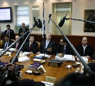 Israeli Cabinet Meeting 23 January 2011