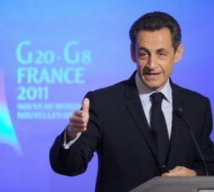 Sarkozy press conference