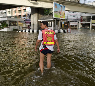 Bangkok flooding global warming