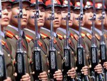 Armed North Korean Soldiers