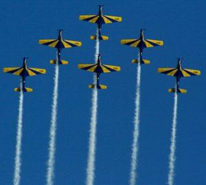 Brazilian airshow