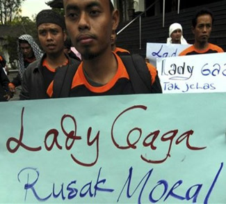 Indonesia Lady Gaga