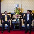 Pakistani President Asif Ali Zardari Holds Talks in Beijing