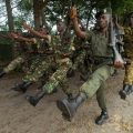 African Soldiers March