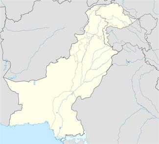 Political map of Pakistan