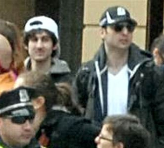 Detention of Tamerlan and Dzhokhar