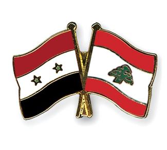 Syrian Flag, Lebanese Flag