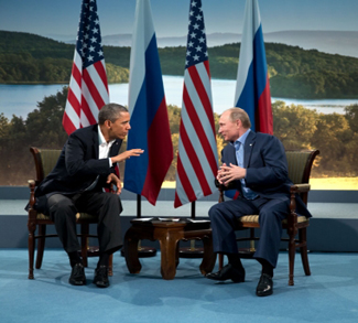US President Obama and Russian President Putin