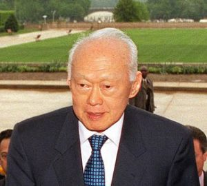 Father of Prime Minister Lee Hsien Loong