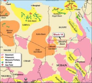 Natural Resource map of Northeast Africa