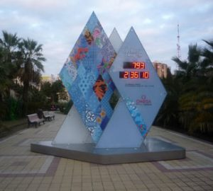 Countdown to Sochi Monument