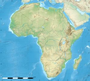 Geological map of Africa
