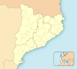 Map of Catalan