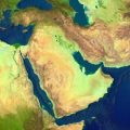 Geological map of middle east