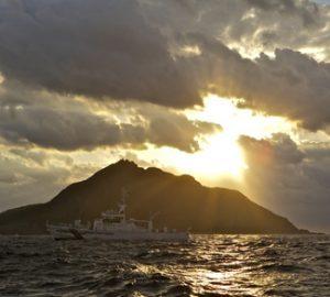 Island in in East China Sea
