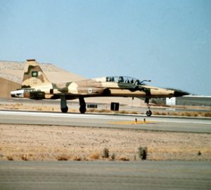 F-5F Tiger II fighter aircraft