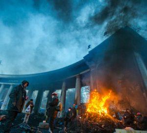 Fire in the Ukraine