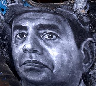 Portrait of Egyptian Revolutionary