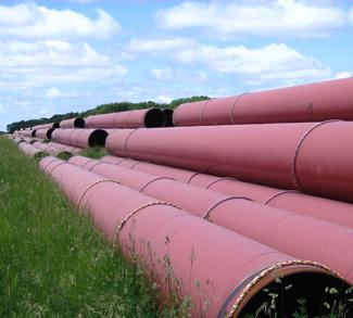 Pipeline in Alberta