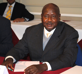 Yoweri Museveni signs anti-gay law