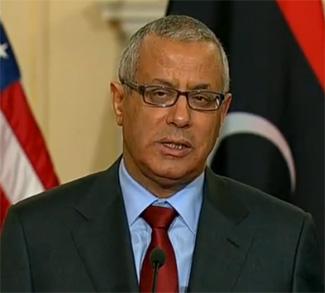 Libya's former prime minister Ali Zeidan