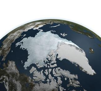 Arctic Ownership Map Nasa