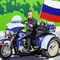 Putin on a motorbike mural, cc Flickr Volna80