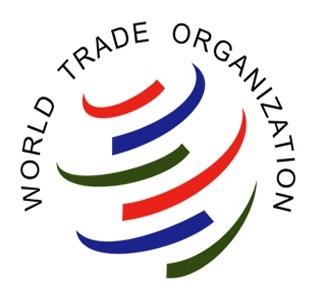 Logo for the World Trade Organization (WTO)