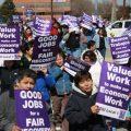 2009 Union Protest CC SEIU Local 1
