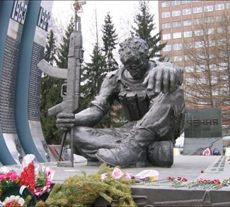 Chechen War Monument cc Gilad Rom