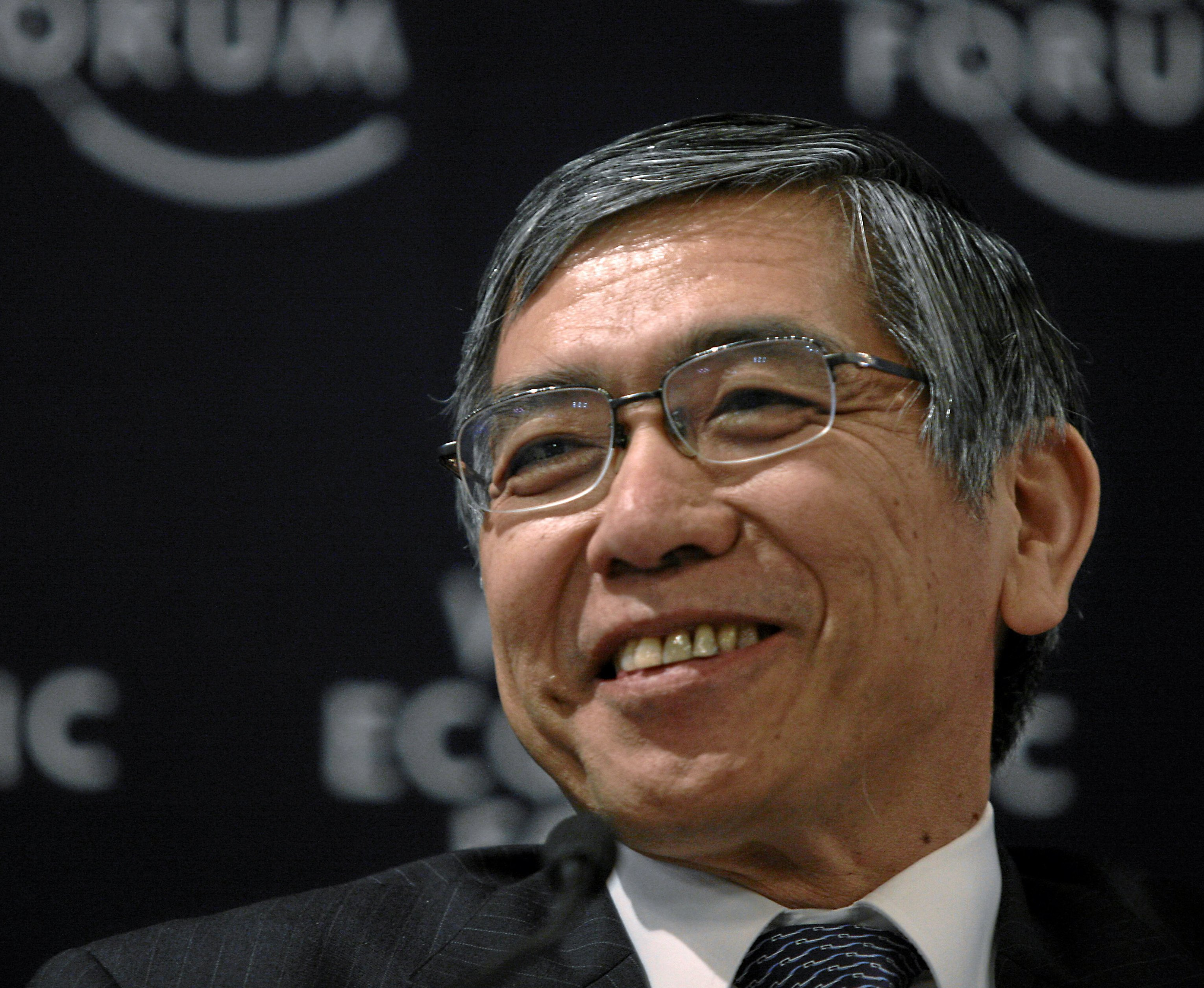 Bank of Japan Governor Haruhiko Kuroda cc Sebastian Derungs