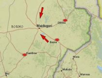 Map of the Boko Haram Offensive in Northern Nigeria