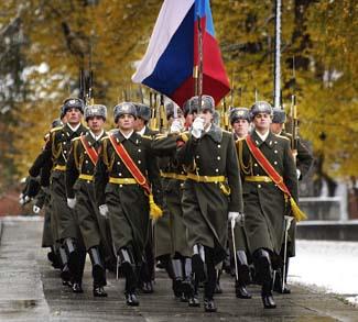 Russia Army CC Mikhail Kamarov
